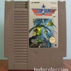 Videojuegos y Consolas: JUEGO NINTENDO NES TOP GUN THE SECOND MISSION - KONAMI 1991. Lote 144478094