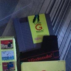 Videojuegos y Consolas: LOW G MAN - NINTENDO NES - THE LOW GRAVITY MAN. Lote 144552334