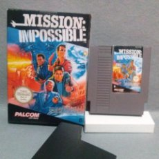 Videojuegos y Consolas: JUEGO *MISSION IMPOSSIBLE* NINTENDO NES ... SE ENCUENTRA EN BUEN ESTADO.. Lote 144802542