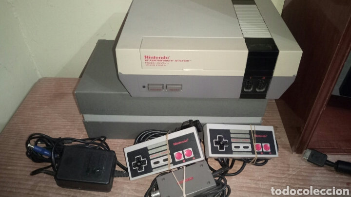 NINTENDO NES COMPLETO FUNCIONA LEER (Juguetes - Videojuegos y Consolas - Nintendo - Nes)