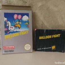 Videojuegos y Consolas: CAJA E INSTRUCCIONES BALLOON FIGHT NINTENDO NES. Lote 145074766