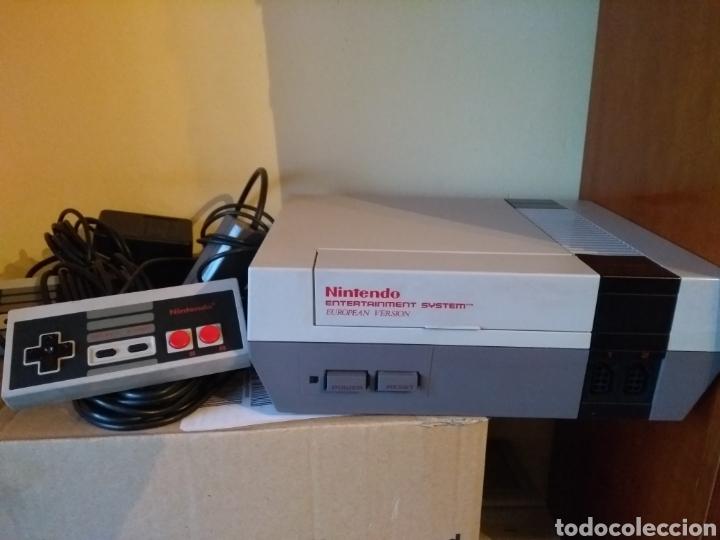 NINTENDO NES EUROPEA FUNCIONA (Juguetes - Videojuegos y Consolas - Nintendo - Nes)