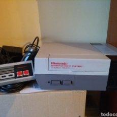 Videojuegos y Consolas: NINTENDO NES EUROPEA FUNCIONA. Lote 145258090