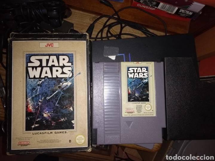 STAR WARS NES VER FOTOS ANTES DE COMPRAR (Juguetes - Videojuegos y Consolas - Nintendo - Nes)