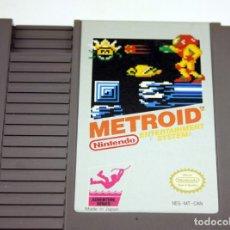 Videojuegos y Consolas: NINTENDO NES - METROID - FUNCIONANDO - VERSIÓN CANADA - FUNDA. Lote 146303442