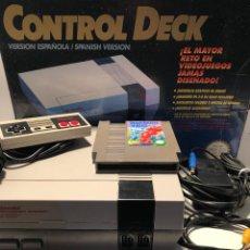 Videojuegos y Consolas: NINTENDO NES + CABLEADO + MANDO + JUEGO. Lote 147391730