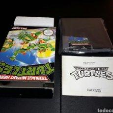 Videojuegos y Consolas: TURTLES NINTENDO NES. Lote 147471942