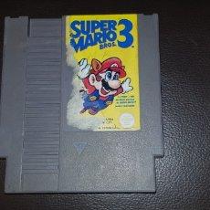 Videojuegos y Consolas: JUEGO ORIGINAL NINTENDO NES CARTUCHO SUPER MARIO 3. Lote 148246750