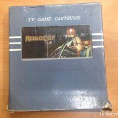 Videojuegos y Consolas: JUEGO ROBOCOP CON CAJA TV GAME CARTRIDGE . Lote 148289054