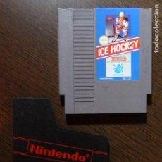 Videojuegos y Consolas: JUEGO NINTENDO ICE HOCKEY NES PAL - CARTUCHO. Lote 148680950