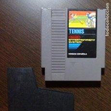 Videojuegos y Consolas: JUEGO NINTENDO TENIS NES PAL - CARTUCHO. Lote 148682270