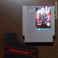 Videojuegos y Consolas: JUEGO NINTENDO NEW GHOSBUSTER NES PAL - CARTUCHO. Lote 148683026