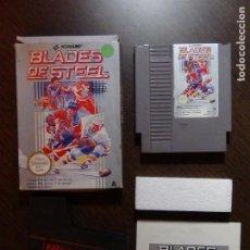 Videojuegos y Consolas: JUEGO NINTENDO BLADES OF STEEL NES PAL - COMPLETO. Lote 148684058