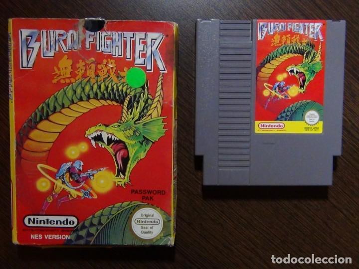 JUEGO NINTENDO BURAI FIGHTER NES PAL - CARTUCHO Y CAJA (Juguetes - Videojuegos y Consolas - Nintendo - Nes)