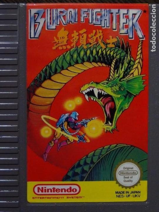 Videojuegos y Consolas: Juego nintendo BURAI FIGHTER NES pal - CARTUCHO Y CAJA - Foto 2 - 148684762