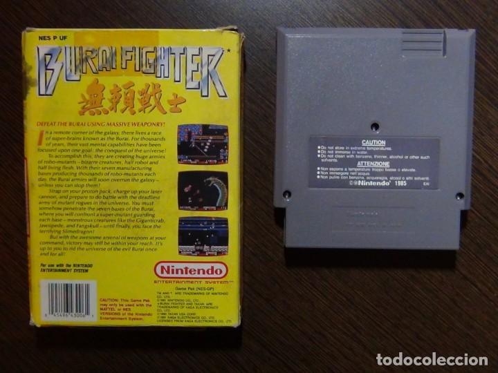 Videojuegos y Consolas: Juego nintendo BURAI FIGHTER NES pal - CARTUCHO Y CAJA - Foto 3 - 148684762