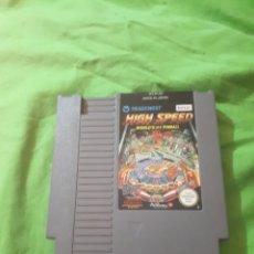 Videojuegos y Consolas: JUEGO HIGH SPEES NINTENDO NES. Lote 150567520