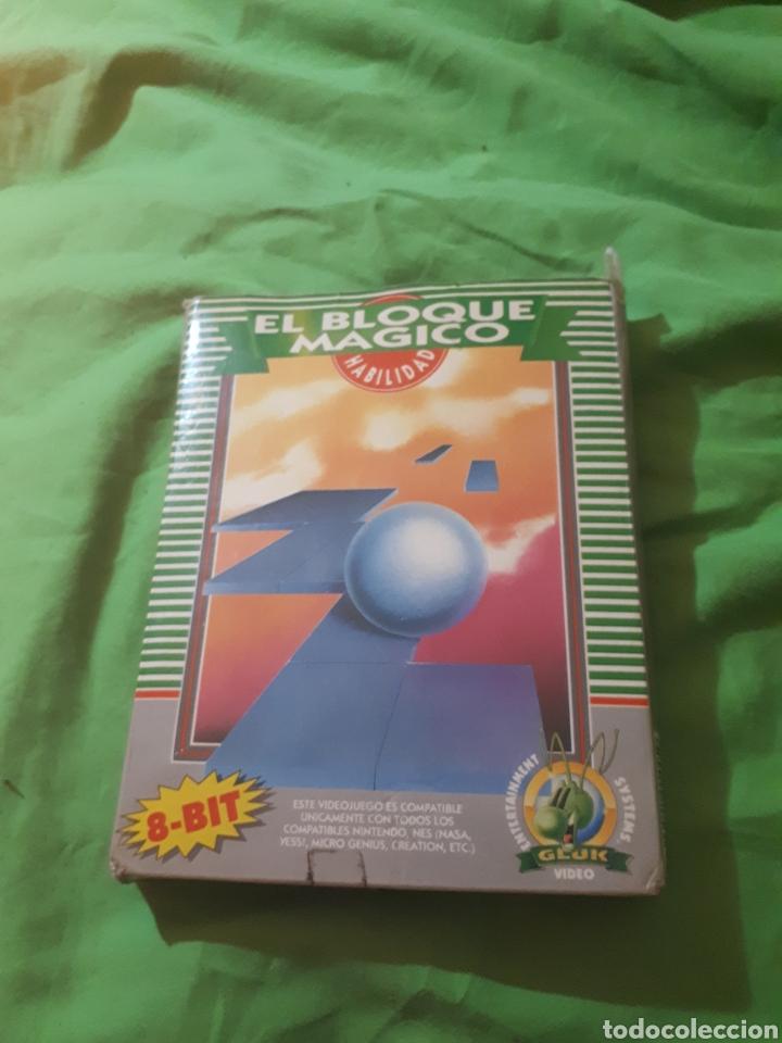 JUEGO PARA NINTENDO NES EL BLOQUE MAGICO EN CAJA (Juguetes - Videojuegos y Consolas - Nintendo - Nes)