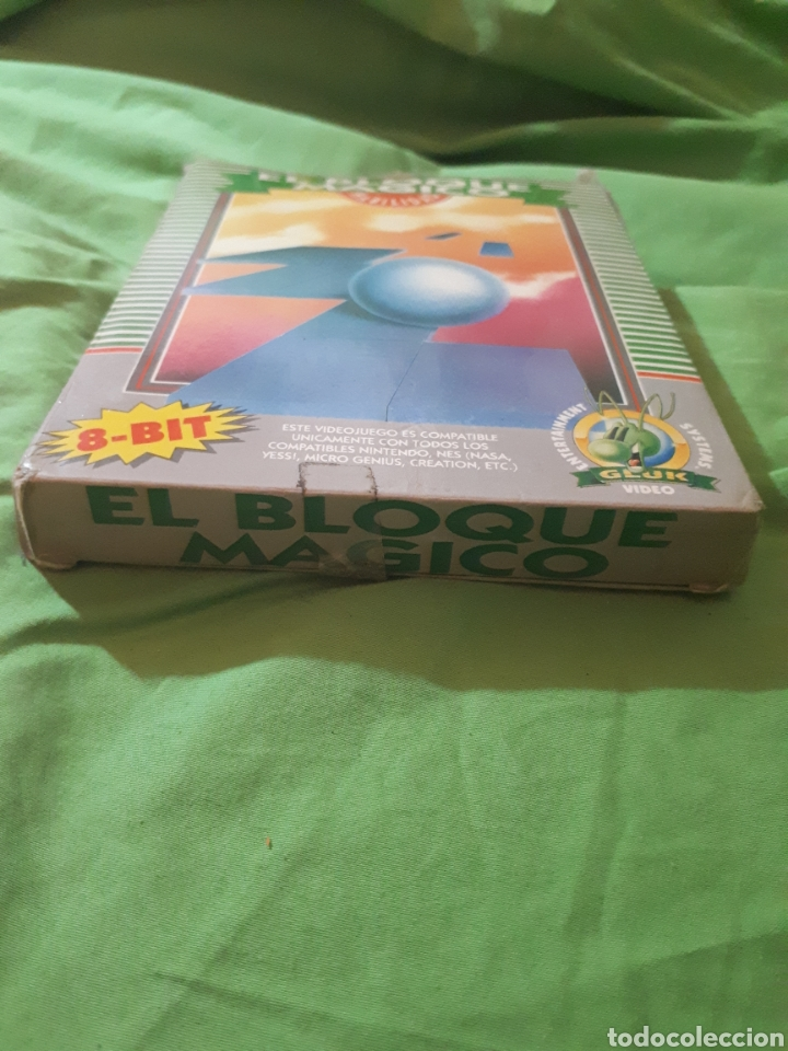 Videojuegos y Consolas: Juego para nintendo nes EL BLOQUE MAGICO EN CAJA - Foto 6 - 150568050