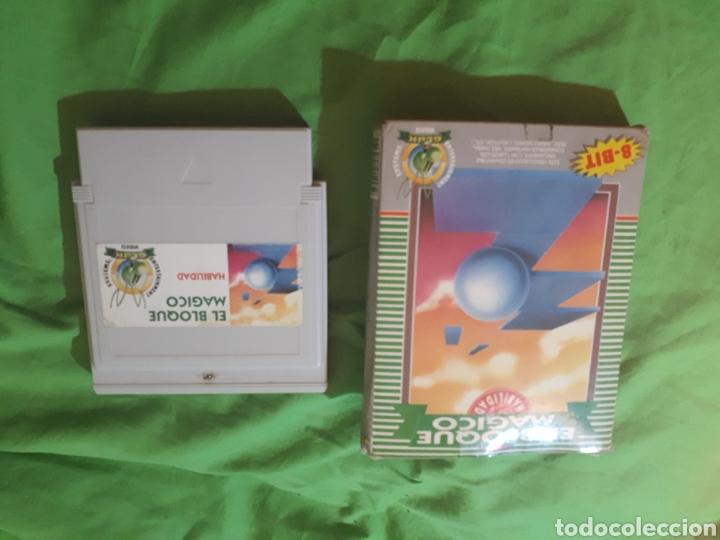 Videojuegos y Consolas: Juego para nintendo nes EL BLOQUE MAGICO EN CAJA - Foto 7 - 150568050