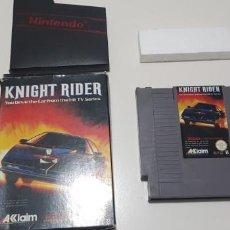 Videojuegos y Consolas: J- KNIGHT RIDER NINTENDO NES VERSION ESPAÑOLA . Lote 151664894