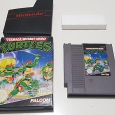 Videojuegos y Consolas: J-TURTLES TEENAGE MUTANT HERO NINTENDO NES PAL B VERSION EUROPEA . Lote 151665058