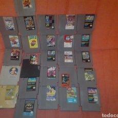 Videojuegos y Consolas: LOTE 26 JUEGOS NINTENDO NES SEGUN FOTOS.. Lote 151666565