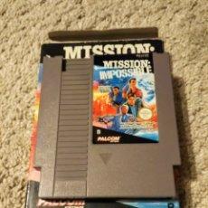 Videojuegos y Consolas: JUEGO RETRO NES ORIGINAL PAL - MISSION IMPOSSIBLE DE PALCOM. Lote 152271448