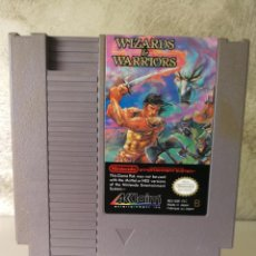 Videojuegos y Consolas: WIZARDS AND WARRIORS NINTENDO NES. Lote 152632258