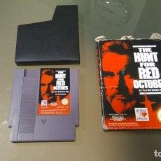 Videojuegos y Consolas: THE HUNT FOR RED OCTOBER NES, VERSIÓN ESP.. Lote 153369294
