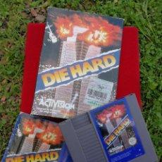 Videojuegos y Consolas: JUEGO DIE HARD (LA JUNGLA DE CRISTAL) -NINTENDO, NES, MADE IN JAPAN,1985 CON INSTRUCCIONES Y CAJA.. Lote 154289786