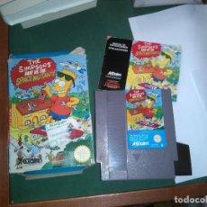 Videojuegos y Consolas: THE SIMPSONS. NES. COMPLETO. SPACE MUTANTS. Lote 155970362