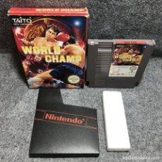 Videojuegos y Consolas: WORLD CHAMP NINTENDO NES. Lote 156017165
