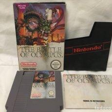 Videojuegos y Consolas: NINTENDO THE BATTLE OF OLYMPUS. VERSIÓN ESPAÑOLA. COMPLETO. NES. Lote 156668913