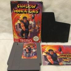 Videojuegos y Consolas: NINTENDO JUEGO SHADOW WARRIORS. COMPLETO.. Lote 156669678