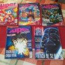 Videojuegos y Consolas: SUPER JUEGOS - LOTE DE 5 REVISTAS - AÑOS 1992 A 1994 - 6 - 18 - 19 - 20 Y 32. Lote 160553936
