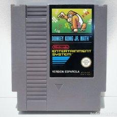 Videojuegos y Consolas: DONKEY KONG JR. MATH NINTENDO NES. Lote 136506662