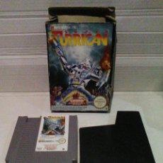 Videojuegos y Consolas: SUPER TURRICAN NES NINTENDO PAL B ESPAÑA. Lote 158322910