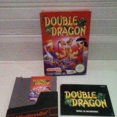 Videojuegos y Consolas: DOUBLE DRAGON NES NINTENDO COMPLETO. Lote 158386310
