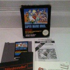 Videojuegos y Consolas: SUPER MARIO BROS NES CAJA PEQUEÑA NINTENDO. Lote 158387454