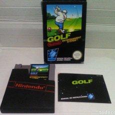 Videojuegos y Consolas: GOLF NES NINTENDO. COMPLETO. Lote 158388234