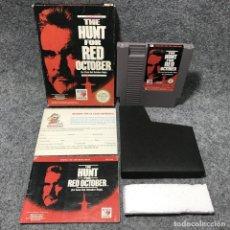 Videojuegos y Consolas: THE HUNT FOR RED OCTOBER LA CAZA DEL OCTUBRE ROJO NINTENDO NES. Lote 159317802