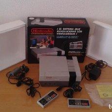 Videojuegos y Consolas: NINTENDO NES COMPLETA CON CAJA CIB VERSION ESPAÑOLA 2 MANDOS TODO ORIGINAL VER!! R8953. Lote 194367028