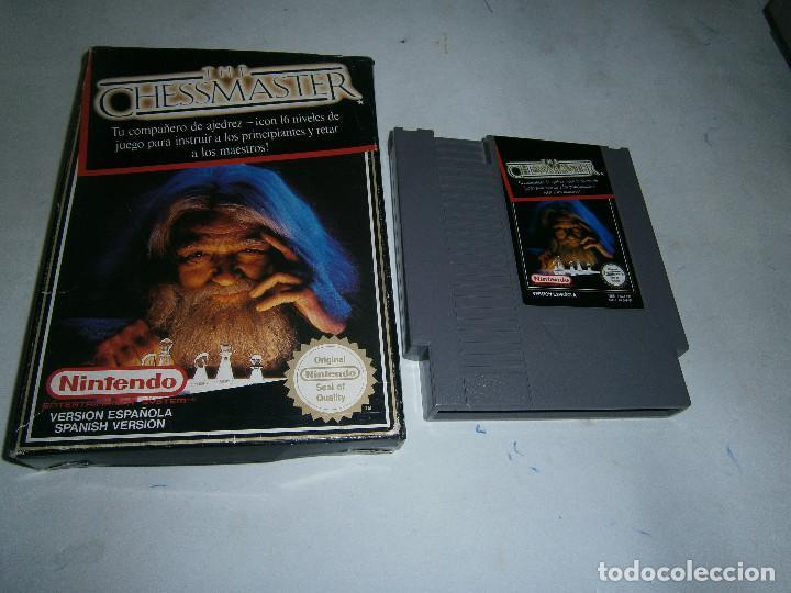 THE CHESSMASTER NINTENDO NES PAL VERSION ESPAÑOLA (Juguetes - Videojuegos y Consolas - Nintendo - Nes)