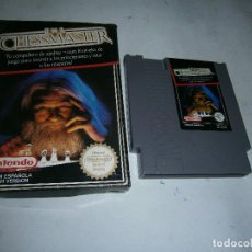 Videojuegos y Consolas: THE CHESSMASTER NINTENDO NES PAL VERSION ESPAÑOLA. Lote 159653022