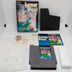 Videojuegos y Consolas: LUNAR POOL PARA NINTENDO NES ORIGINAL. Lote 160055604