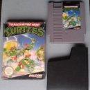 Videojuegos y Consolas: NINTENDO NES MUTANT HERO NINJA TURTLES PAL B CON CAJA BOXED VER Y LEER! R8982. Lote 160372974