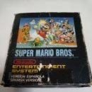 Videojuegos y Consolas: SUPER MARIO BROS CON CAJA NES. Lote 160467472