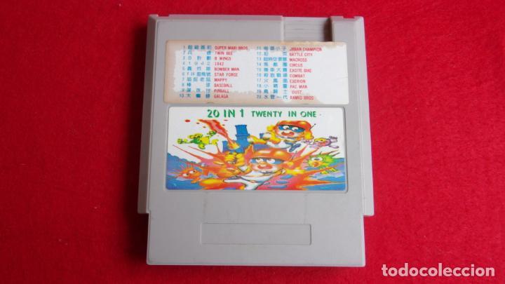 Videojuegos y Consolas: juego para nintendo nes,20 juegos en 1 cartucho - Foto 2 - 161097142