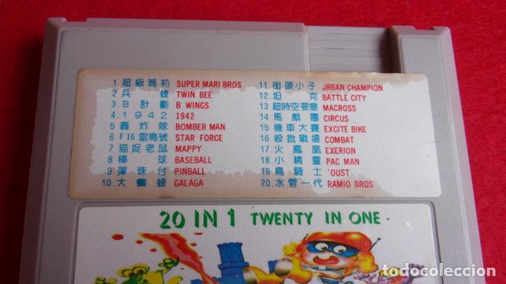 Videojuegos y Consolas: juego para nintendo nes,20 juegos en 1 cartucho - Foto 3 - 161097142